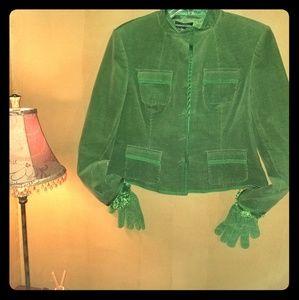 Style&co Green CorduroyJacket